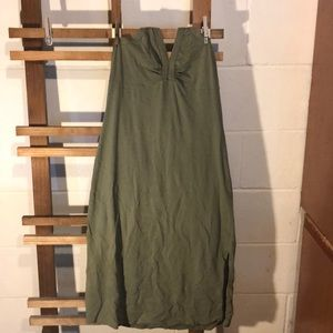 Dresses & Skirts - Army green summer dress